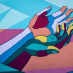 art of two people holding hands empathy is a power that empaths and all of us hold